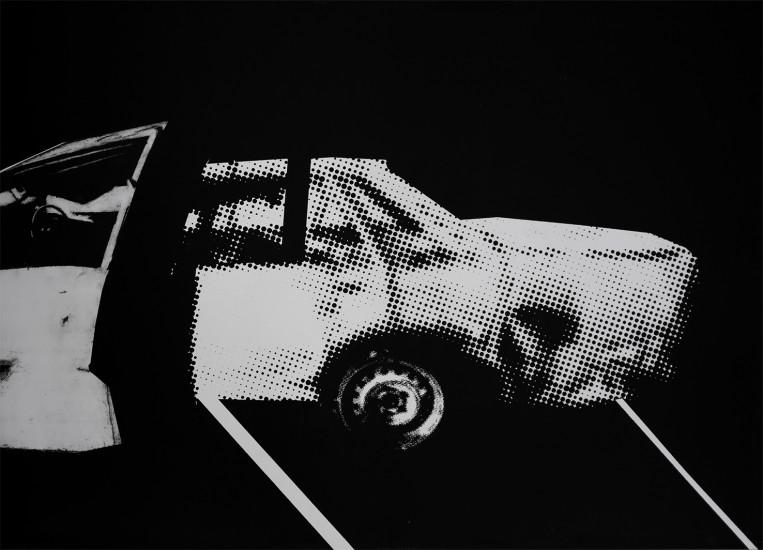 Postvisions (10) | intaglio, woodcut | 100x70 cm