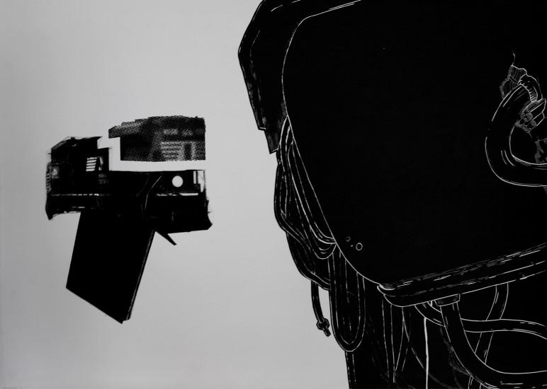 Postvisions (8) | intaglio, woodcut | 100x70 cm